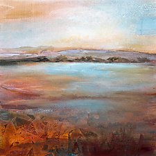 A Peaceful World by Karen  Hale (Acrylic Painting)