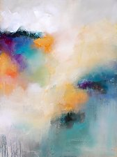 Color Story by Karen  Hale (Acrylic Painting)