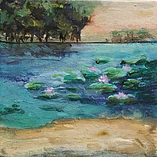 Quiet Moment by Karen  Hale (Acrylic Painting)