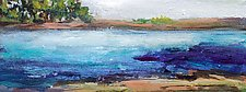 Water's Edge III by Karen  Hale (Acrylic Painting)