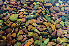 Lake Stones, Montana by Jed Share (Color Photograph)