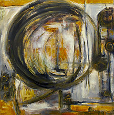 Circular Thought by Jan Fordyce (Oil Painting)