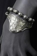 Martha's Vineyard Bracelet by John Siever (Silver & Bead Bracelet)
