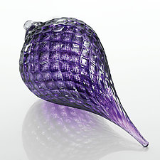 Jacaranda by Gina Lunn (Art Glass Ornament)