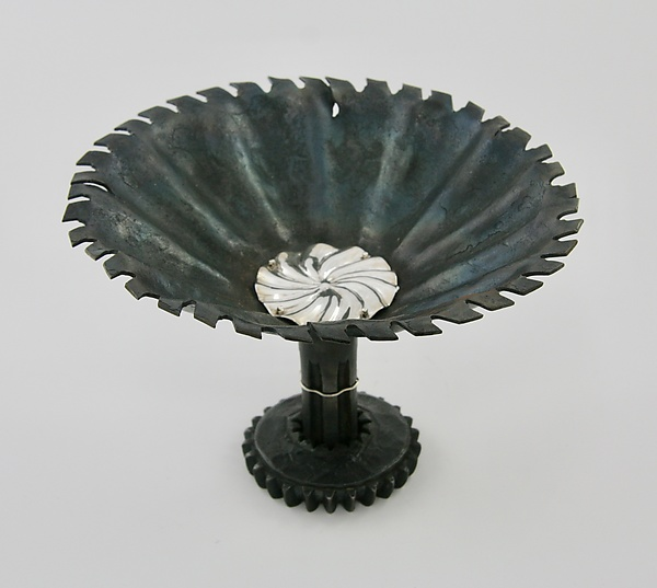 Pinwheel Bowl By Nicole And Harry Hansen Metal Bowl