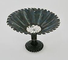 Pinwheel Bowl by Nicole and Harry Hansen (Metal Bowl)