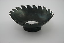 Sharp Bowl by Nicole and Harry Hansen (Metal Bowl)
