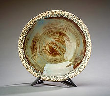 Sea Urchin Bowl II by Valerie Seaberg (Ceramic Bowl)