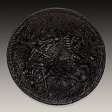 Pit-Fired Fossil Bowl by Valerie Seaberg (Ceramic Bowl)