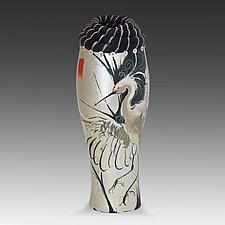 Egretta by Valerie Seaberg (Ceramic Vessel)