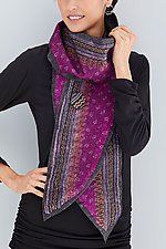 Beti Scarf by Janice Kissinger  (Silk & Wool Scarf)