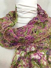 Threadwork Scarf 1013 by Andi Shannon  (Stitched Scarf)