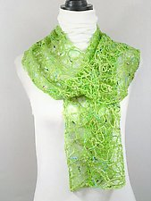 Threadwork Scarf 833 by Andi Shannon  (Stitched Scarf)