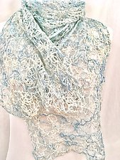 Threadwork Scarf 1015 by Andi Shannon  (Stitched Scarf)