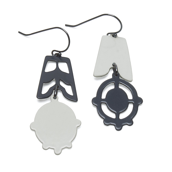 Asymmetrical Silhouette Earrings