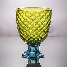 Medium Pineapple Glass by Andrew Iannazzi (Art Glass Drinkware)