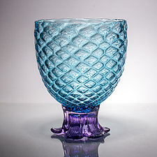 Medium Pineapple Glass by Andrew Iannazzi (Art Glass Drinkware)