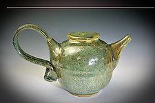 Stoneware Teapot by Tom Neugebauer (Ceramic Teapot)