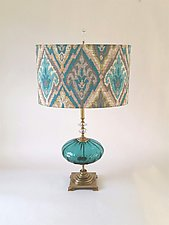 Grande Moroccan by Mollie Woods (Mixed-Media Table Lamp)