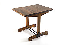 Huntress Cafe Table by Wes Walsworth (Wood Dining Table)