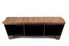 Entry Bench by Wes Walsworth (Wood & Steel Bench)