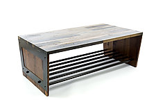 Renegade Coffee Table by Wes Walsworth (Wood Coffee Table)