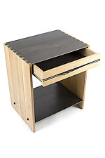 Roy Nightstand by Wes Walsworth (Wood Side Table)