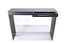 Floyd Console Table by Wes Walsworth (Wood & Steel Console Table)