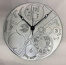 Circle Geometry Clock by Evy Rogers (Metal Clock)