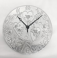 I Love Nature by Evy Rogers (Metal Clock)
