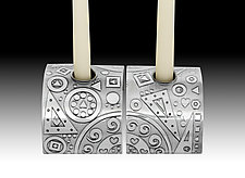 Hearts Together Candlestands by Evy Rogers (Metal Candleholders)