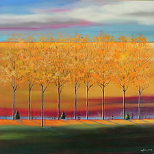 Fall by Mary Johnston (Oil Painting)