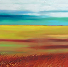Grassland #3 by Mary Johnston (Oil Painting)