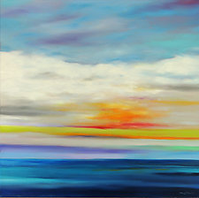 Beautiful Day VIII by Mary Johnston (Oil Painting)
