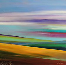 The Hills by Mary Johnston (Oil Painting)