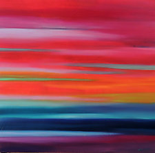 Abstract 262 by Mary Johnston (Oil Painting)