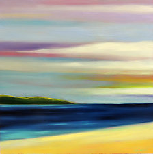 Dark Water Cove by Mary Johnston (Oil Painting)