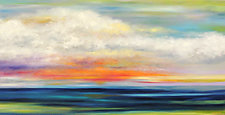 Summer Sea by Mary Johnston (Oil Painting)