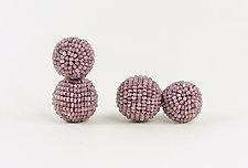 Color Pops Earrings by Julie Long Gallegos (Beaded Earrings)