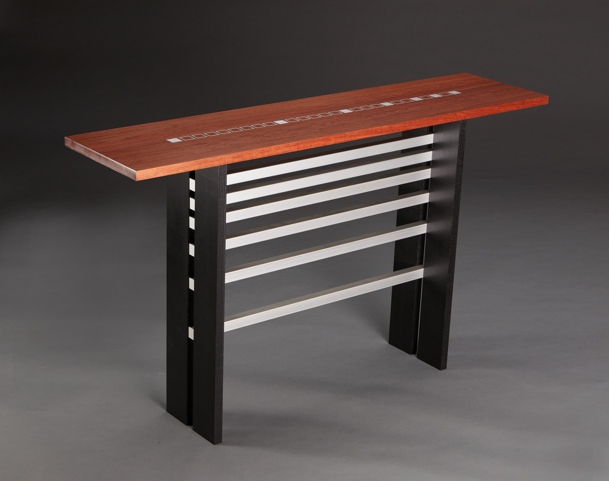 Fibonacci Ii By Carol Jackson Wood Console Table