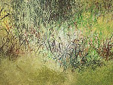 Nate's Land 2 by Jan Jahnke (Mixed-Media Painting)