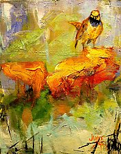 Saturday Bird II by Janice Sugg (Oil Painting)