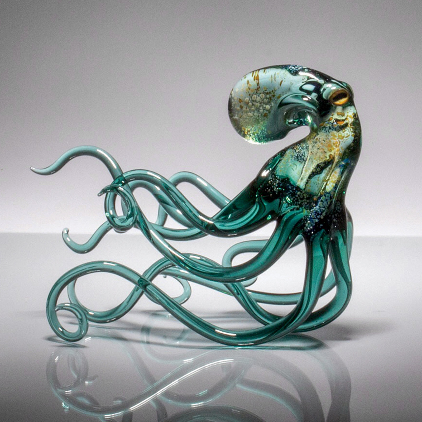 Plus Personality: Motion By Bryan Randa (Art Glass Sculpture)