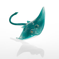 Stingray by Bryan Randa (Art Glass Ornament)