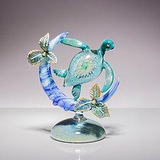 Moonlight by Bryan Randa (Art Glass Sculpture)