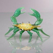 Crustacean by Bryan Randa (Art Glass Sculpture)