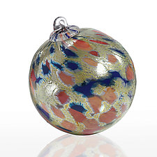 Harvest Moon by Bryce Lockwood (Art Glass Ornament)
