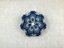 Kaleidoscope No. 69 by Joh Ricci (Fiber Brooch)
