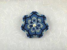 Kaleidoscope No. 69 by Joh Ricci (Fiber Brooch)