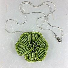 Blossom Necklace by Joh Ricci (Fiber Necklace)